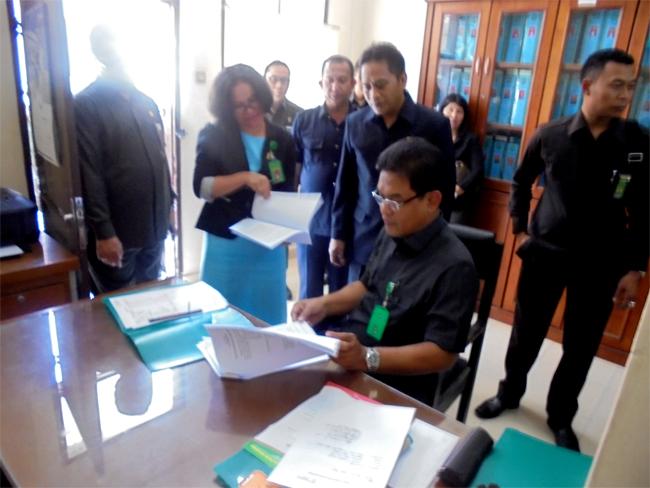 Kunjungan Dirjen Badan Peradilan Umum MARI beserta Rombongan di Pengadilan Negeri Stabat